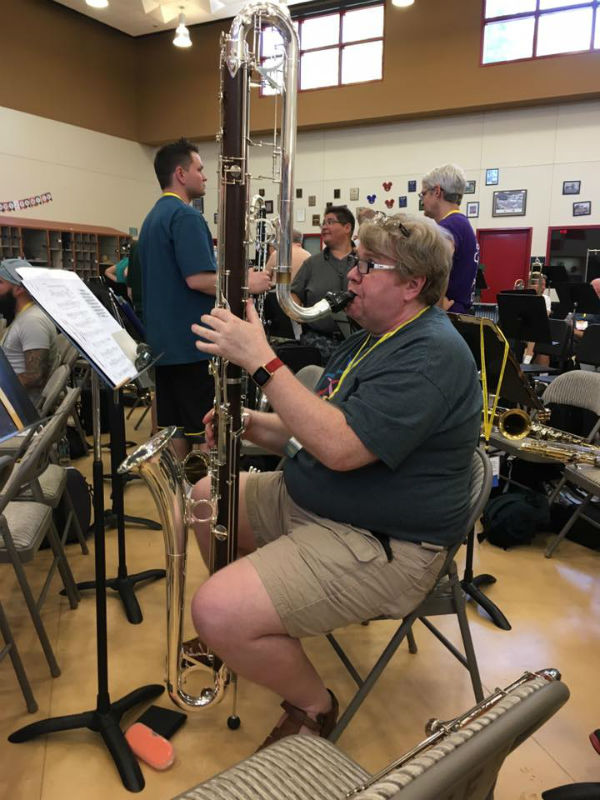 Contra Bass Clarinet at LGBA Conference 2016